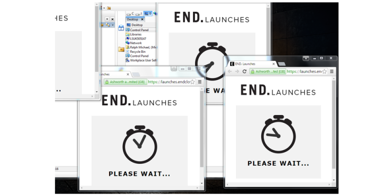 END. Launches